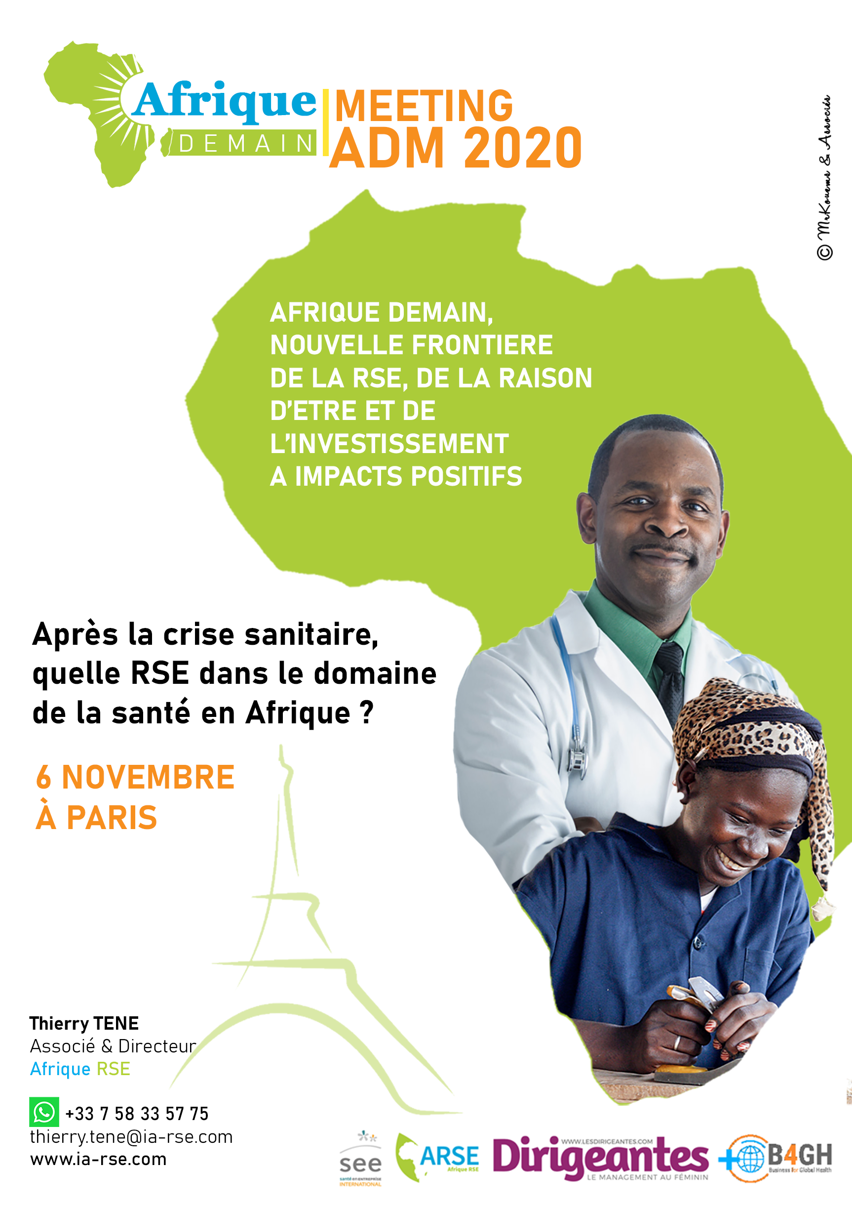 Ouverture des inscriptions pour le forum RSE santé Afrique du 6 novembre à Paris